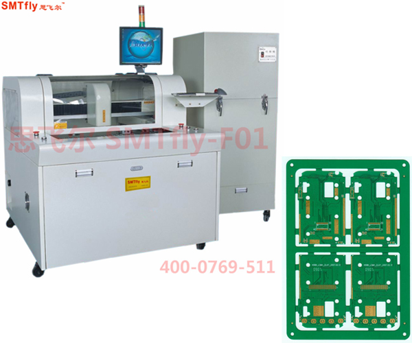 PCB Router Cutting Equipment for Depaneling PCBA,SMTfly-F01