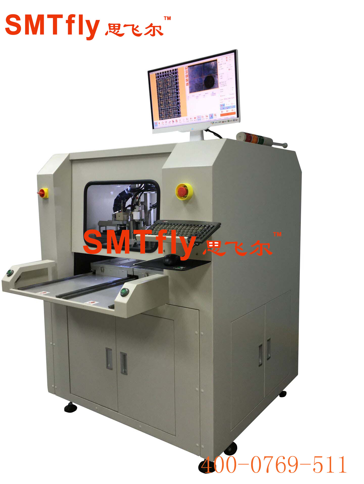 PCB Routing Equipment, SMTfly-F01-S