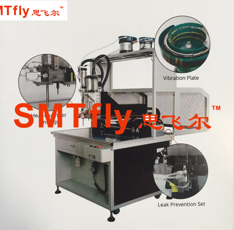 Screw Nut Heat Inserting Machine